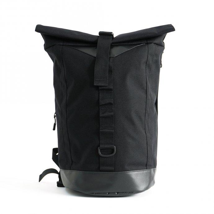 157325673 GUD / Rolltop - Black ロールトップ バックパック ブラック 01