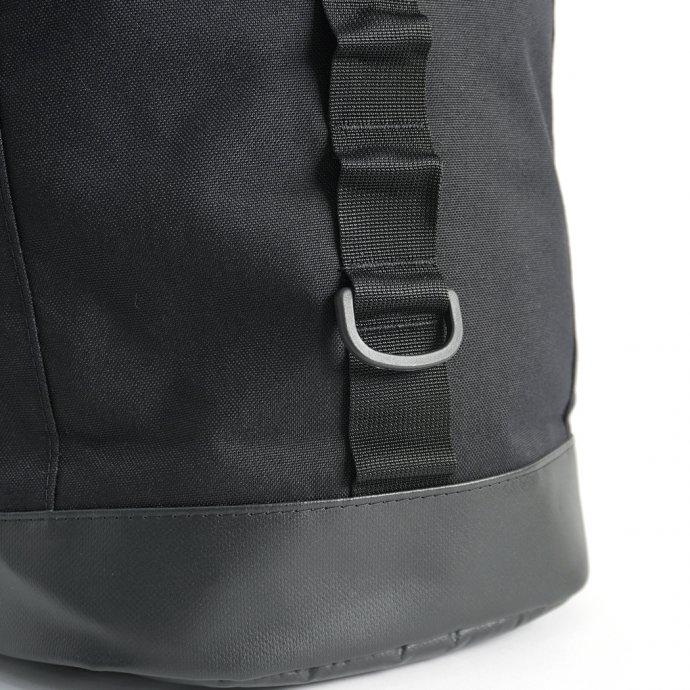 157325673 GUD / Rolltop - Black ロールトップ バックパック ブラック 02