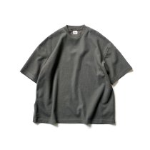 blurhms ROOTSTOCK / Rough & Smooth Thermal Crew-neck - KhakiGrey ROOTS2101