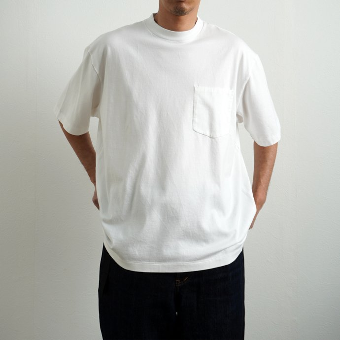 157406226 blurhms ROOTSTOCK / Extra Soft Pocket Tee BIG S/S - KhakiGrey ROOTS2111 02