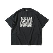 blurhms ROOTSTOCK / NEW WAVE Tee BIG ROOTS2119S21-C - InkBlack ニューウェイヴTシャツ インクブラック<img class='new_mark_img2' src='https://img.shop-pro.jp/img/new/icons47.gif' style='border:none;display:inline;margin:0px;padding:0px;width:auto;' />