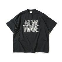 blurhms ROOTSTOCK / NEW WAVE Tee BIG ROOTS2119S21-C - InkBlack ニューウェイヴTシャツ インクブラック