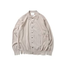 STILL BY HAND / KN03211 ポリエステルリネン カーディガン - Pink Beige<img class='new_mark_img2' src='https://img.shop-pro.jp/img/new/icons47.gif' style='border:none;display:inline;margin:0px;padding:0px;width:auto;' />
