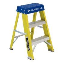 Louisville Ladder / ファイバーステップ イエロー 耐荷重110kg 2ft(60cm)2-Foot Fiberglass Step Stool FS2002<img class='new_mark_img2' src='https://img.shop-pro.jp/img/new/icons47.gif' style='border:none;display:inline;margin:0px;padding:0px;width:auto;' />