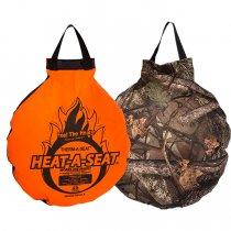 ThermaSeat サーマシート / HEAT-A-SEAT ヒートアシート アウトドアクッション RealTree/ネオンオレンジ