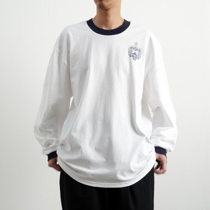 158724544 USNA / Official Midshipmen Blue Rim L/S Tee Manufactured by Champion ロングスリーブTシャツ 02