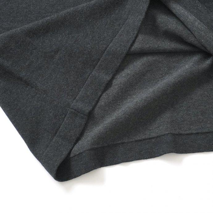 158730918 crepuscule / 2101-007 S/S KNIT - C.Gray 半袖ニット チャコールグレー 02