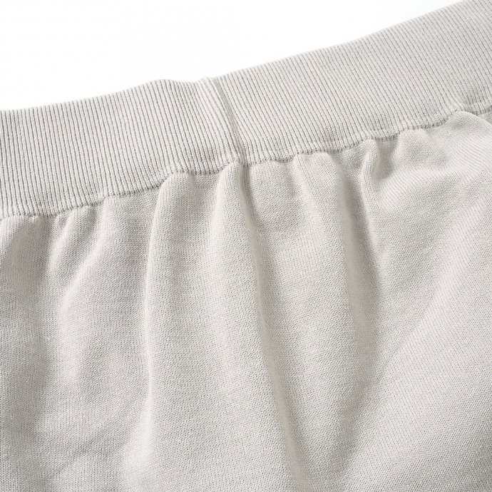 158731100 crepuscule / 2101-011 SHORT PANTS - L.Gray ニットショーツ ライトグレー 02
