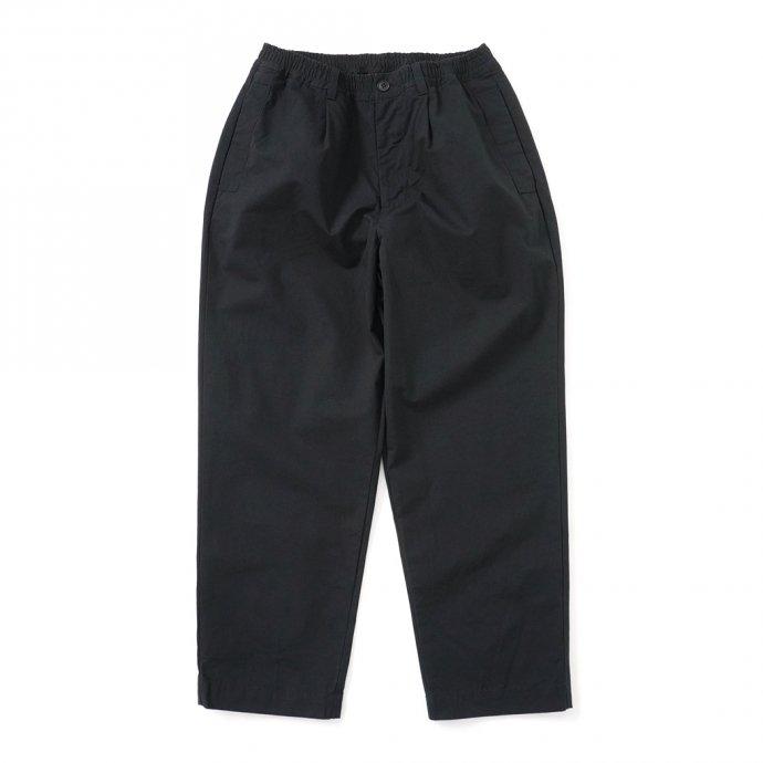 158793515 STILL BY HAND / PT04212 シルク混 ワンタックイージーパンツ - Black 01