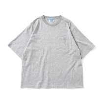 Powderhorn Mountaineering / P.H. M.Micro Stripe Tee マイクロボーダーTシャツ PH21SS-005 - Grey/White
