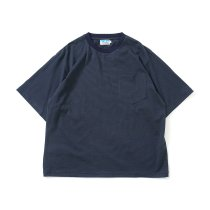 Powderhorn Mountaineering / P.H. M.Micro Stripe Tee マイクロボーダーTシャツ PH21SS-005 - Navy/Green