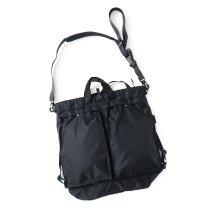 bagjack / 3way Helmet Bag - Nipo Black バッグジャック ヘルメットバッグ ブラック
