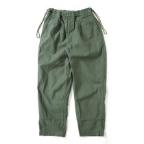 Hexico / Deformer Drawstring Pant Ex. U.S. Military Bags Barracks Deadstock ランドリーバッグリメイクパンツ - サイズ2-2