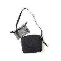 O-(オー)/ 3D MESH BAG - S ショルダーバッグ 21S-14 - Black x Gray