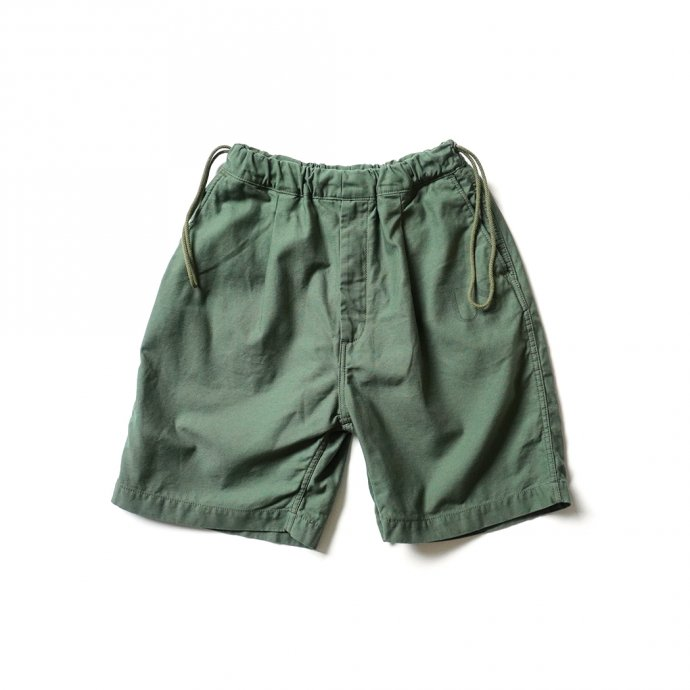 160482341 Hexico / Deformer Drawstring Short Pant Ex. U.S. Military Bags Barracks Deadstock リメイクショーツ - サイズ1-02 01
