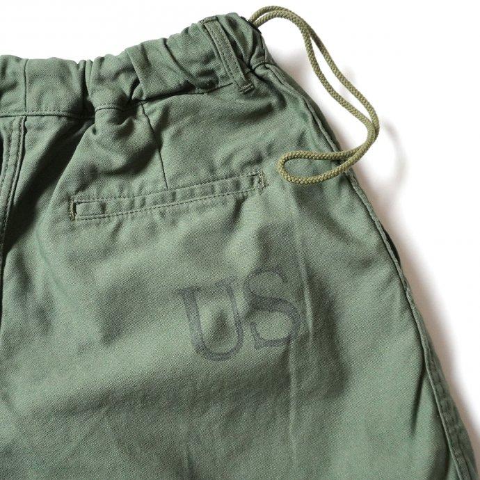 160482341 Hexico / Deformer Drawstring Short Pant Ex. U.S. Military Bags Barracks Deadstock リメイクショーツ - サイズ1-02 02