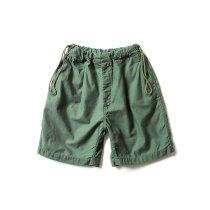 Hexico / Deformer Drawstring Short Pant Ex. U.S. Military Bags Barracks Deadstock リメイクショーツ - サイズ1-03