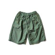 Hexico / Deformer Drawstring Short Pant Ex. U.S. Military Bags Barracks Deadstock リメイクショーツ - サイズ2-04