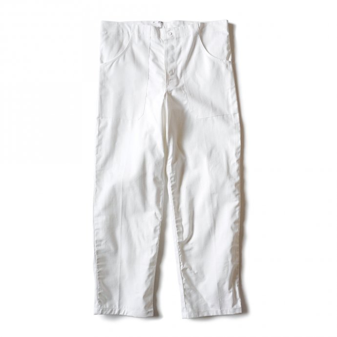 161355845 Deadstock Czech White Cock Pants チェコ軍 / デッドストック コックパンツ ホワイト 01