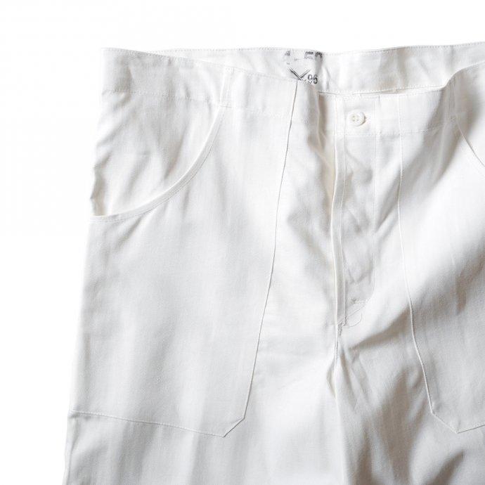 161355845 Deadstock Czech White Cock Pants チェコ軍 / デッドストック コックパンツ ホワイト 02