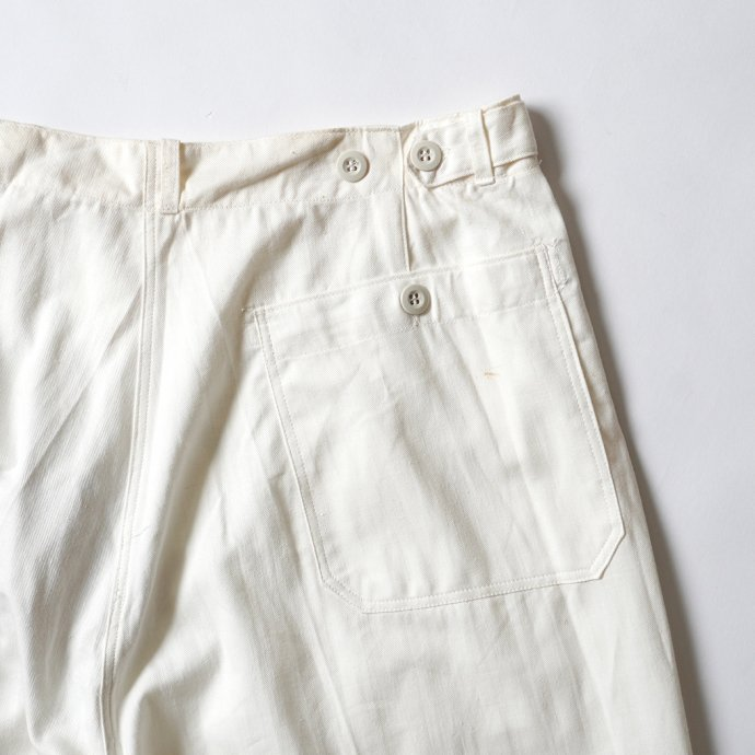 161357809 Deadstock Czech Military Work Pants チェコ軍 / デッドストック ワークパンツ ホワイト - 01<img class='new_mark_img2' src='https://img.shop-pro.jp/img/new/icons47.gif' style='border:none;display:inline;margin:0px;padding:0px;width:auto;' /> 02