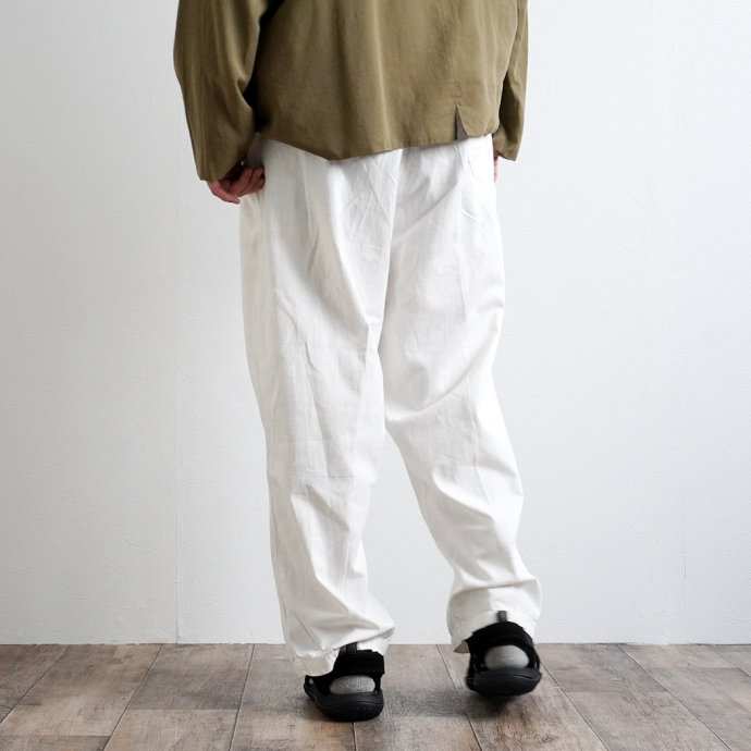161357825 Deadstock Czech Military Work Pants チェコ軍 / デッドストック ワークパンツ ホワイト - 02<img class='new_mark_img2' src='https://img.shop-pro.jp/img/new/icons47.gif' style='border:none;display:inline;margin:0px;padding:0px;width:auto;' /> 02