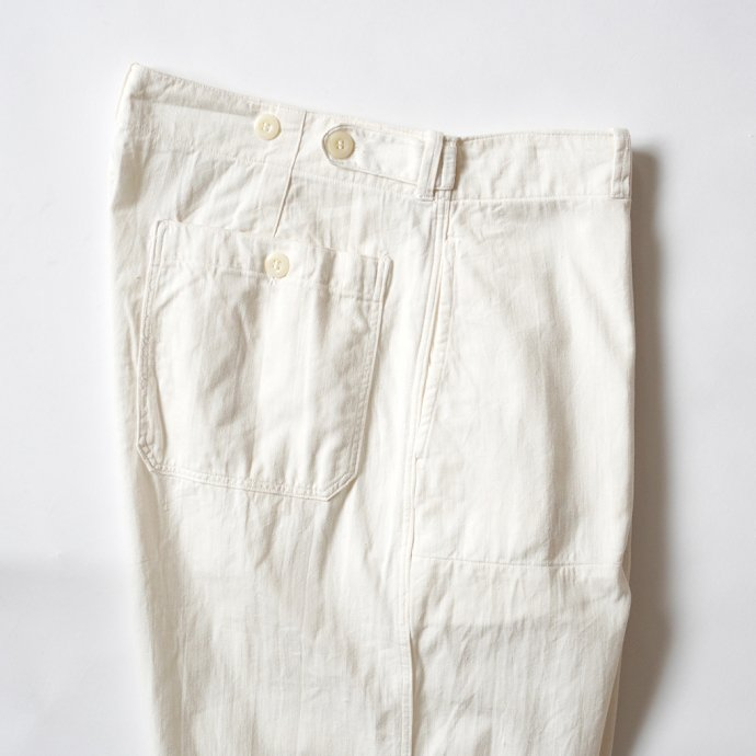 161357832 Deadstock Czech Military Work Pants チェコ軍 / デッドストック ワークパンツ ホワイト - 03<img class='new_mark_img2' src='https://img.shop-pro.jp/img/new/icons47.gif' style='border:none;display:inline;margin:0px;padding:0px;width:auto;' /> 02