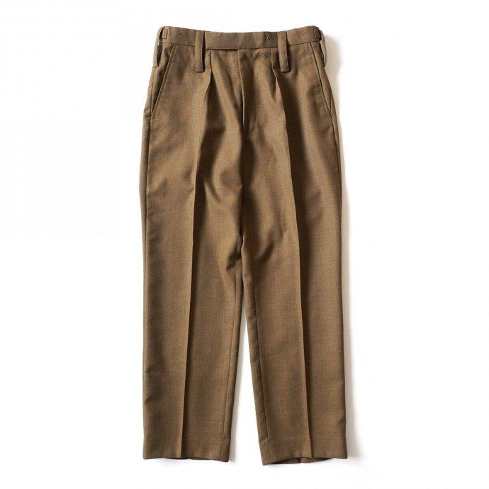161357931 Deadstock British Army Barrack Dress Trousers イギリス軍 / デッドストック ドレストラウザーズ ブラウン 01