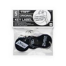 CANDY DESIGN & WORKS / Fripp Original Key Label CK-12 キーラベルセット - Black