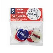 CANDY DESIGN & WORKS / Fripp Original Key Label CK-12 キーラベルセット - Assort