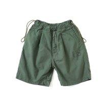 Hexico / Deformer Drawstring Short Pant Ex. U.S. Military Bags Barracks Deadstock リメイクショーツ - サイズ1-07