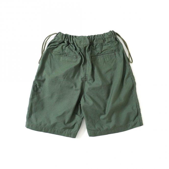 161798412 Hexico / Deformer Drawstring Short Pant Ex. U.S. Military Bags Barracks Deadstock リメイクショーツ - サイズ2-08 02