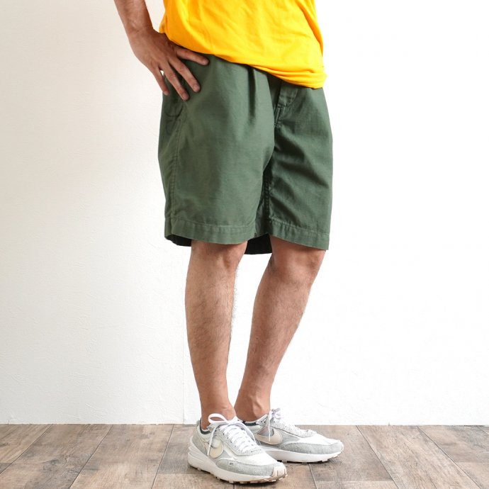 161798465 Hexico / Deformer Drawstring Short Pant Ex. U.S. Military Bags Barracks Deadstock リメイクショーツ - サイズ2-09 02