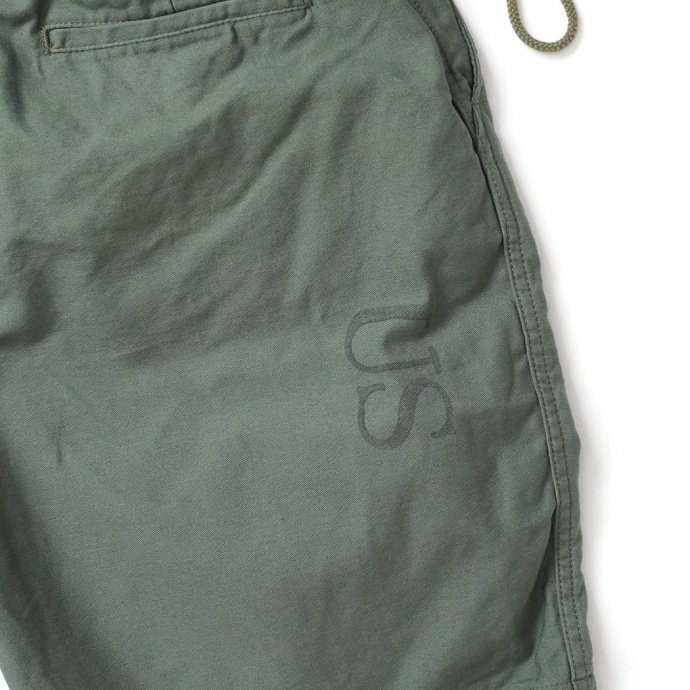 161798509 Hexico / Deformer Drawstring Short Pant Ex. U.S. Military Bags Barracks Deadstock リメイクショーツ - サイズ2-10 02