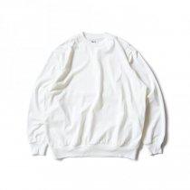 blurhms ROOTSTOCK / Silk Cotton 20/80 Crew-neck BIG L/S - Off シルクコットンクルーネックカットソー ROOTS2107F21