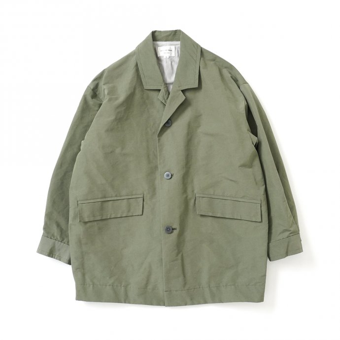 162219156 STILL BY HAND / CO01213 ラペルドコート - Olive 01