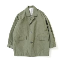 STILL BY HAND / CO01213 ラペルドコート - Olive