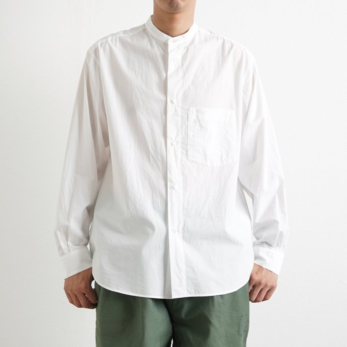 162219481 STILL BY HAND / SH04213 バンドカラーシャツ - White<img class='new_mark_img2' src='https://img.shop-pro.jp/img/new/icons47.gif' style='border:none;display:inline;margin:0px;padding:0px;width:auto;' /> 02