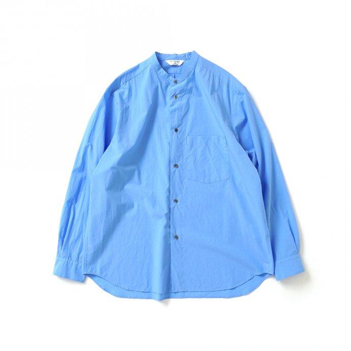 162219544 STILL BY HAND / SH04213 バンドカラーシャツ - Blue 01
