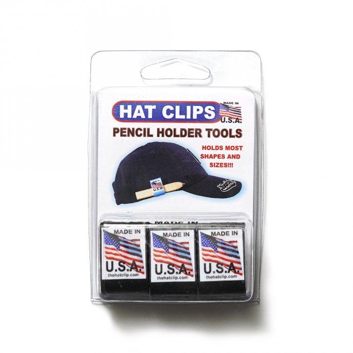 162524288 HAT CLIP ハットクリップ ブラック 01