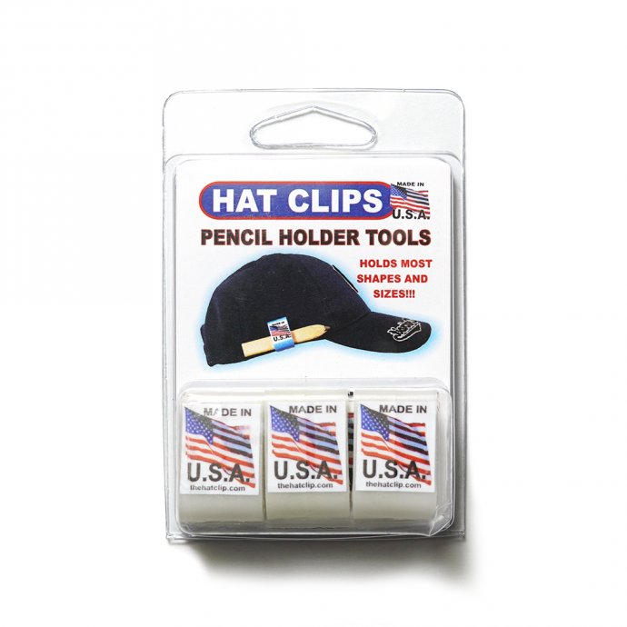 162524437 HAT CLIP ハットクリップ ホワイト<img class='new_mark_img2' src='https://img.shop-pro.jp/img/new/icons47.gif' style='border:none;display:inline;margin:0px;padding:0px;width:auto;' /> 01