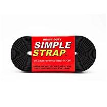 SIMPLE STRAP / Heavy Duty - Black シンプルストラップ ヘビーデューティ ブラック