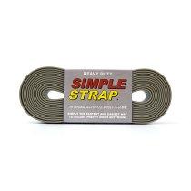 SIMPLE STRAP / Heavy Duty - Grey シンプルストラップ ヘビーデューティ グレー