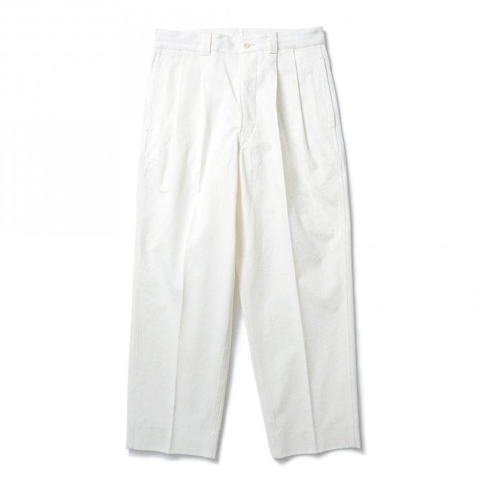 blurhms ROOTSTOCK / Chino Pants - Off ROOTS21F11 チノパンツ