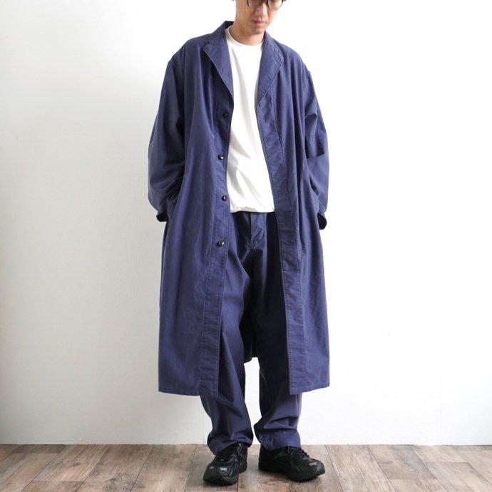 162857962 blurhms ROOTSTOCK / Light Moleskin Atelier Coat - FadePurpleNavy ROOTS21F3-2 02