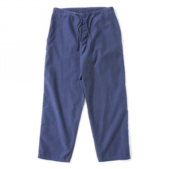 162858738 blurhms ROOTSTOCK / Light Moleskin Easy Work Pants - FadePurpleNavy ROOTS21F4-2 01