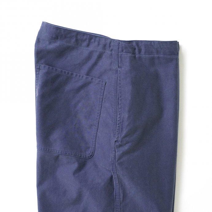 162858738 blurhms ROOTSTOCK / Light Moleskin Easy Work Pants - FadePurpleNavy ROOTS21F4-2 02