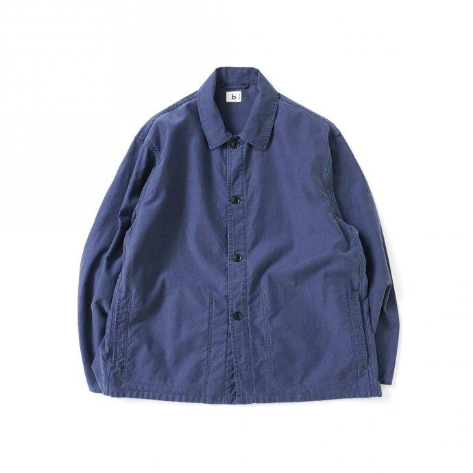 blurhms ROOTSTOCK / Light Moleskin Work Jacket - FadePurpleNavy ROOTS21F5-2