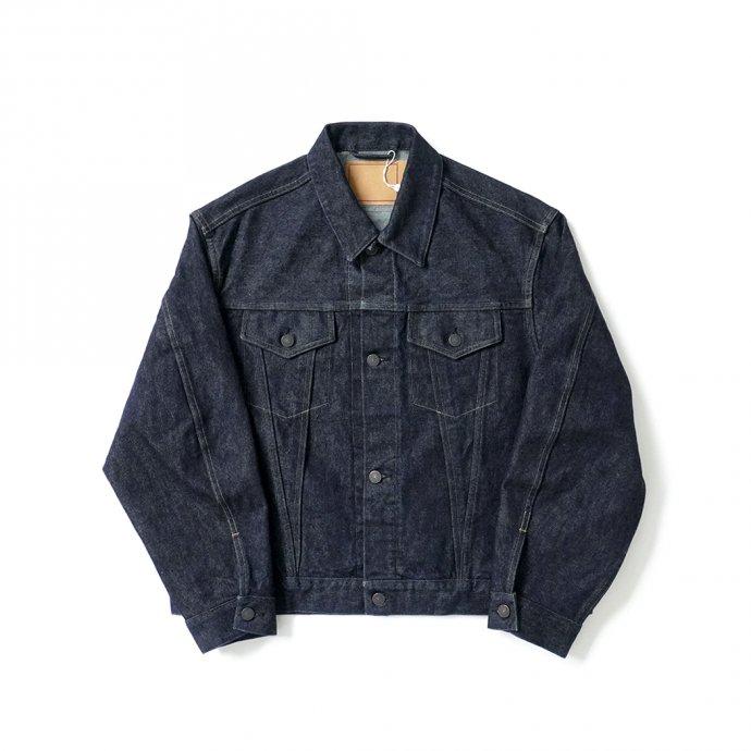 162889867 blurhms ROOTSTOCK / 13.5 Selvage Denim Jacket 3rd TYPE - indigo ROOTS21F8 01