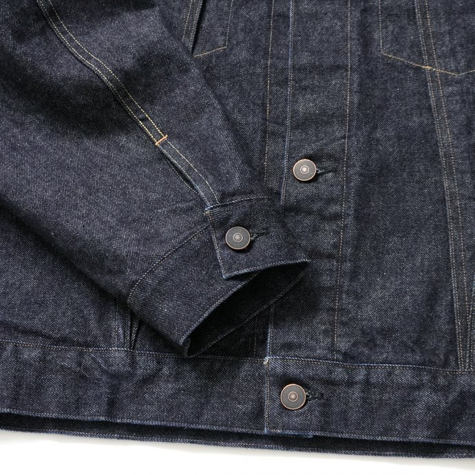 162889867 blurhms ROOTSTOCK / 13.5 Selvage Denim Jacket 3rd TYPE - indigo ROOTS21F8 02
